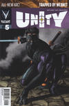 Cover for Unity (Valiant Entertainment, 2013 series) #5 [Cover B - Mico Suayan]