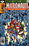 Cover for Micronauts (Marvel, 1979 series) #9 [Direct]