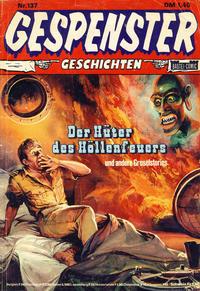 Cover Thumbnail for Gespenster Geschichten (Bastei Verlag, 1974 series) #137