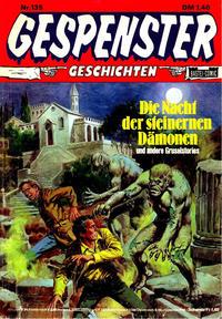 Cover Thumbnail for Gespenster Geschichten (Bastei Verlag, 1974 series) #135