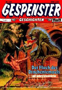 Cover Thumbnail for Gespenster Geschichten (Bastei Verlag, 1974 series) #134