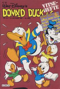 Cover Thumbnail for Donald Duck & Co (Hjemmet / Egmont, 1948 series) #42/1987