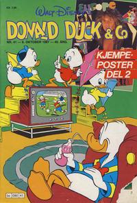 Cover Thumbnail for Donald Duck & Co (Hjemmet / Egmont, 1948 series) #41/1987