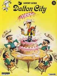 Cover Thumbnail for Lucky Luke (Semic, 1977 series) #26 - Dalton City [2. opplag]