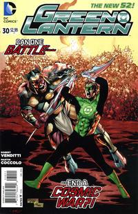 Cover Thumbnail for Green Lantern (DC, 2011 series) #30