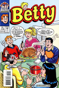 Cover Thumbnail for Betty (Archie, 1992 series) #119 [Direct Edition]