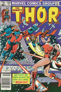 Cover for Thor (Marvel, 1966 series) #328 [Canadian Price Variant]