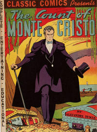 Cover Thumbnail for Classic Comics (Gilberton, 1941 series) #3 - The Count of Monte Cristo [HRN 10]