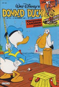 Cover Thumbnail for Donald Duck & Co (Hjemmet / Egmont, 1948 series) #45/1987