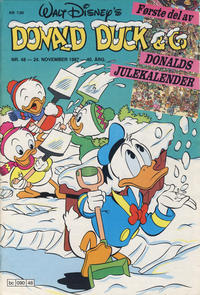 Cover Thumbnail for Donald Duck & Co (Hjemmet / Egmont, 1948 series) #48/1987