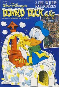 Cover Thumbnail for Donald Duck & Co (Hjemmet / Egmont, 1948 series) #49/1987