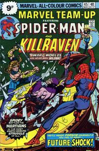 Cover Thumbnail for Marvel Team-Up (Marvel, 1972 series) #45 [British]
