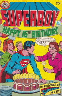 Cover Thumbnail for Superboy (K. G. Murray, 1980 series) #121