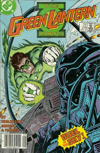 Cover Thumbnail for The Green Lantern Corps (DC, 1986 series) #216 [Newsstand]