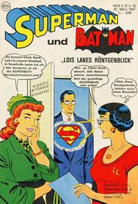Cover Thumbnail for Superman (Egmont Ehapa, 1966 series) #5+6/1967