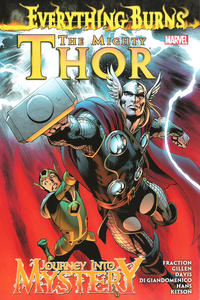 Cover Thumbnail for The Mighty Thor / Journey into Mystery: Everything Burns (Marvel, 2013 series)