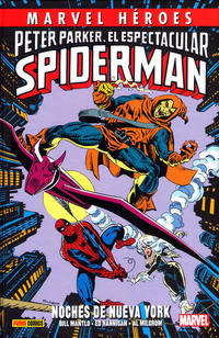 Cover Thumbnail for Marvel Héroes (Panini España, 2012 series) #52 - Peter Parker, El Espectacular Spiderman: Noches de Nueva York