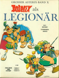 Cover Thumbnail for Asterix (Egmont Ehapa, 1968 series) #10 - Asterix als Legionär [1. Auflage]