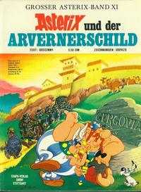 Cover Thumbnail for Asterix (Egmont Ehapa, 1968 series) #11 - Asterix und der Arvernerschild [1. Auflage]
