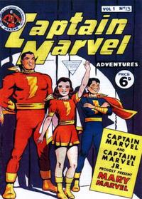 Cover Thumbnail for Captain Marvel [Captain Marvel Adventures] (L. Miller & Son, 1953 series) #v1#13