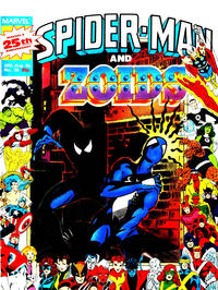 Cover Thumbnail for Spider-Man and Zoids (Marvel UK, 1986 series) #26