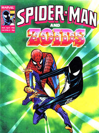 Cover Thumbnail for Spider-Man and Zoids (Marvel UK, 1986 series) #8