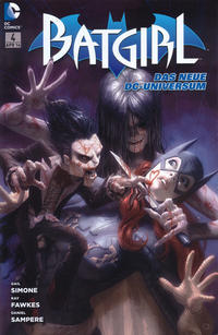 Cover Thumbnail for Batgirl (Panini Deutschland, 2012 series) #4 - Mörderischer Hass
