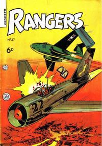 Cover Thumbnail for Rangers Comics (H. John Edwards, 1950 ? series) #27
