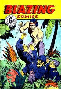 Cover Thumbnail for Blazing Comics (Streamline, 1950 ? series)