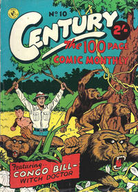Cover Thumbnail for Century, The 100 Page Comic Monthly (K. G. Murray, 1956 series) #10