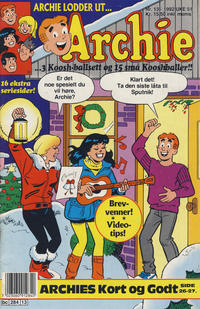Cover Thumbnail for Archie (Semic, 1982 series) #13/1992
