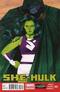 Cover Thumbnail for She-Hulk (Marvel, 2014 series) #3