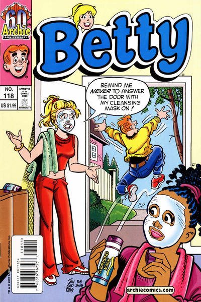 Cover for Betty (Archie, 1992 series) #118 [Newsstand]