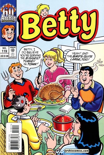 Cover for Betty (Archie, 1992 series) #119 [Direct Edition]