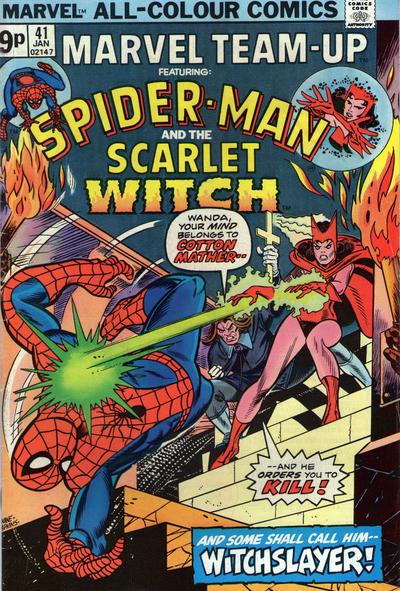 Cover for Marvel Team-Up (Marvel, 1972 series) #41