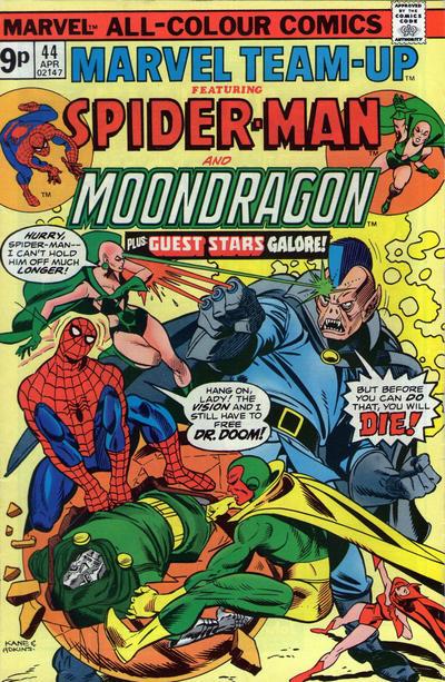 Cover for Marvel Team-Up (Marvel, 1972 series) #44