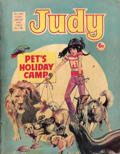 Cover for Judy Picture Story Library for Girls (D.C. Thomson, 1963 series) #108