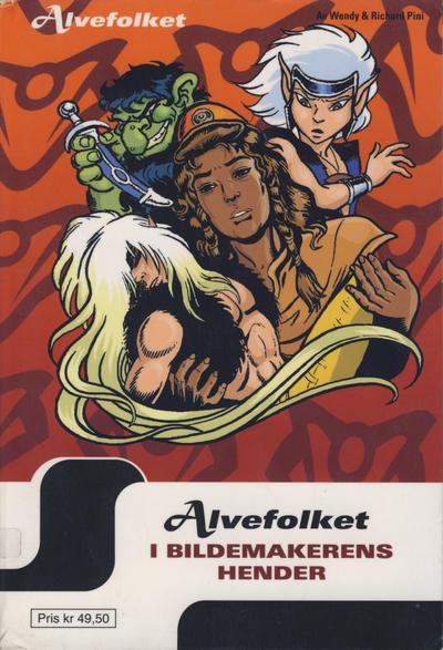 Cover for Alvefolket (Hjemmet / Egmont, 2005 series) #7