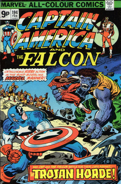 Cover for Captain America (Marvel, 1968 series) #194 [Regular Edition]