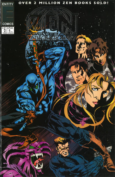 Cover for Zen Intergalactic Ninja Color (Entity-Parody, 1993 series) #6