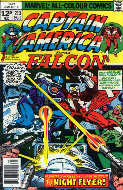 Cover for Captain America (Marvel, 1968 series) #213 [30¢ Cover Price]