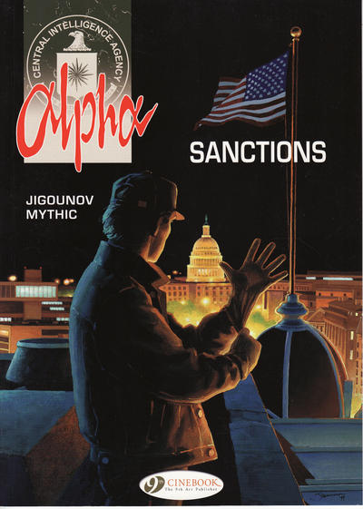Cover for Alpha (Cinebook, 2008 series) #4 - Sanctions