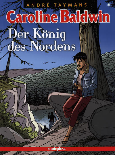 Cover for Caroline Baldwin (comicplus+, 2001 series) #12 - Der König des Nordens