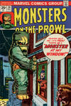 Cover for Monsters on the Prowl (Marvel, 1971 series) #29