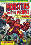 Cover for Monsters on the Prowl (Marvel, 1971 series) #30