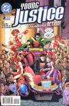 Cover for Young Justice (DC, 1998 series) #2 [Direct Sales]