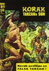 Cover for Korak (Williams Förlags AB, 1966 series) #11