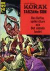 Cover for Korak (Williams Förlags AB, 1966 series) #12