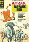 Cover for Korak (Williams Förlags AB, 1966 series) #37