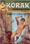 Cover for Korak (Williams Förlags AB, 1966 series) #10/1973